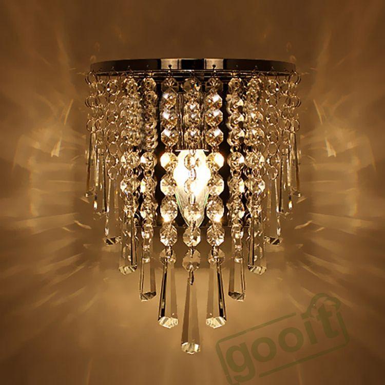 Online Cheap Wholesale Modern Crystal Chandelier Wall Light ...