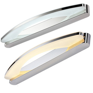 светильники для ванных комнат оптовых-W W W mirror light Modern makeup dressing room bathroom led mirror light fixtures home decoration lighting