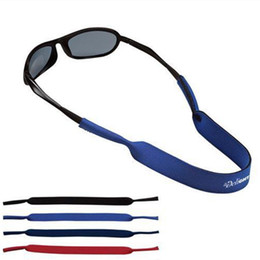 Titular de espetáculos on-line-Atacado-frete grátis moda eyewear óculos espetáculos elástico strap belt belt holder cord para esporte ao ar livre alça de neoprene