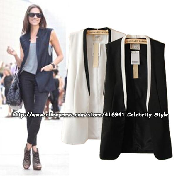 Best Wholesale Sct37 Women Tailored Tuxedo Vest Waistcoat ...