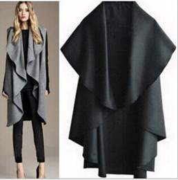 Canada Black Cape Coat Womens Supply, Black Cape Coat Womens ...