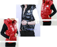 Wholesale Men Fashion Luxury Vest - Wholesale-Lovers! 2015 Hot sales luxury Men down jacket vest autumn winter new fashion trends Women down coat Free shipping