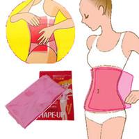 Wholesale Thigh Fat Burning Belt - Wholesale-Pratical Sauna Slimming yoga Belt Body Shaper,Tummy Belly Waist Shaper Burning Cellulite Bellys Wrap Fat Leg Thigh Belts
