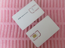 Wholesale 3g Wcdma Test Sim Card - Wholesale-WCDMA 3G Mobile Cell Phone sim Test Card for Anritsu MT8820 Small Size micro