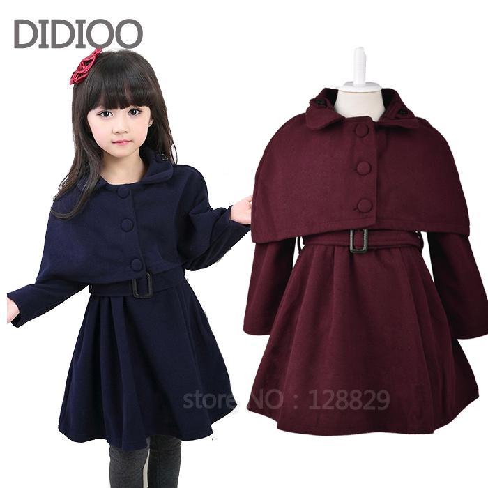 Wholesale Girls Clothes 2015 Autumn &Amp; Winter Child Jacket Baby ...