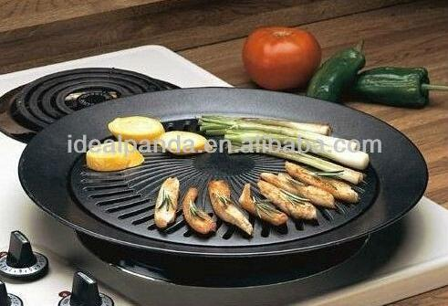 Indoor Gas Grill Range Wholesale Smokeless Pan For Household Stove ...