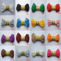 Gros-2mm Satin Rattail Soie Macrame Cord Nylon Kumihimo Shamballa Knot 16 couleurs