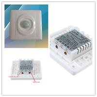 Wholesale Automatic Light Switching - Wholesale-2015 New High Quality 110V-220V Automatic Infrared PIR Motion Sensor Switch for LED Light
