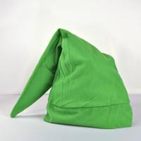 Wholesale Link Cosplay Hat - Wholesale-Green Legend of Zelda Link Hat Cap Anime Game Cosplay NEW