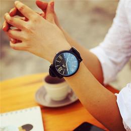 Wholesale Women Watches Big Dials - Wholesale-2015 unisex rubber strap watches men luxury brand big dial men watch for lovers black white lady quartz sport women dress watch