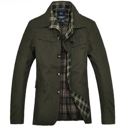 Wholesale Outwear Jacket Popular Tops - Fall-Necessary 2015 Popular Fall Men's Plain Long Jacket Simple Casual Wind Proof Outwear Top Quality Men's Fashion M-XXL MWJ155