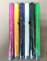 Wholesale Custom Rubber Mixing - Wholesale-(15pcs lot) Lingt weight Grip Mixed Order Golf Putter Grip For Men with Package 7 Colors Pu Custom Grip