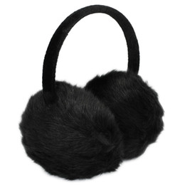 schwarzes fauxpelzstirnband Rabatt Lady Woman Stirnband schwarz Kunstpelz Winter Ohrenschutz Ohrenschützer