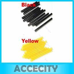Wholesale Color Keratin Glue Sticks - Wholesale-E93 Free Shipping 12pcs Hair Extensions Keratin Human Glue Stick Two color to choose