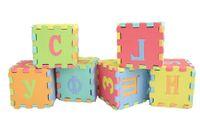 Wholesale Crawling Foam Mat - Wholesale-36Pcs Set Children Learning Mat Russian Language Toy Alphabet Mat Russian Baby Play Mat Puzzle Foam Floor 12*12cm Crawling Mat
