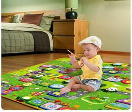 Wholesale Crawling Foam Mat - Wholesale-2015 Baby Play Mat Game Gym Educational Carpet Children Crawling Pad Eco-Friendly Tapete Infantil EVA playmat foam