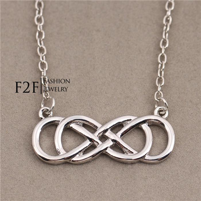 Double Infinity Necklace - Revenge - Emily Throne GUvB3j6Kp