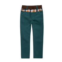 Wholesale boys pant washed trouser kids pants british styles children clothing for kids school trousers news bottming