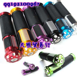 Wholesale Scooter Modified - Wholesale-Free shipping! Motorcycle hand sets common aluminum handle plastic scooter modified pieces moped accessories leading the sets