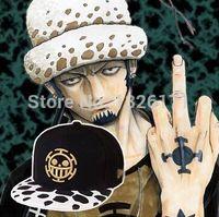 Wholesale Trafalgar Law Plush - Wholesale-Wholesale One Piece Anime Cosplay Doctor Hat Trafalgar Law Cap Costumes One Piece surgeon plush hats accessories free shipping