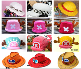 Wholesale One Piece Cosplay Chopper - Wholesale-Anime One Piece Cosplay Tony Chopper Plush Cotton Cap Hat, Tony 2Years after VER Hat