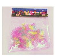 Wholesale Loom Colour - Wholesale-High Quality 100Pcs Coloured S Clips For Loom Bands Bracelet Necklace DIY AE01148