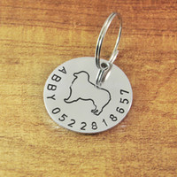 All'ingrosso-Australian Shepherd Dog Tag personale l'animale domestico ID Tag Personalized Dog Tag ID personalizzato cane