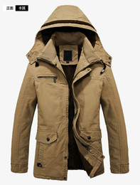 Discount Mens Wool Hooded Parka | 2017 Mens Wool Hooded Parka on ...