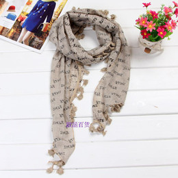 Wholesale Children Scarfs Triangle - Wholesale-2015 new cotton variety Department letter spring and winter scarf wholesale parent-child couples triangle method