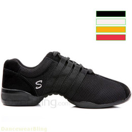 Wholesale Hip Hop Jazz Sneakers - Wholesale-Womens Modern Dancing Jazz Sneakers Shoes Soft Hip Hop Canvas Shoes for Men Women Jazz Dancing Custom for Men Women