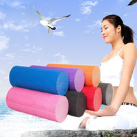 Wholesale EVA Yoga Pilates Fitness Foam Roller Massage Point Multicolor Lose Weight Health Useful