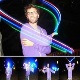 Wholesale Laser Magic Colour - Wholesale-4pcs Lot Party LED Magic color lights glowing dazzle colour laser emitting finger ring Finger light up toy Free shipping!