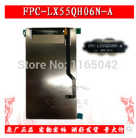 Wholesale Chinese Replacement Phone Screens - Wholesale-inside LCD display screen Glass Panel Replacement part fpc-lx55qh06n-a for chinese MTK android phone note3 n900 N9005 N9006