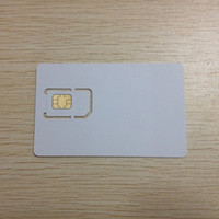Wholesale Test Sim Card 3g - Wholesale-2 in 1 Mobile phone test SIM card 3G 4G NFC Standard SIM Micro SIM card