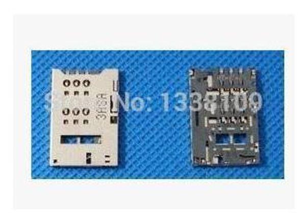 Vente en gros-50 PCS / Lot Nouveau connecteur de lecteur de carte sim connecteur slot pour ZTE Nubia Z5 mini NX402 U9815 U956 téléphone