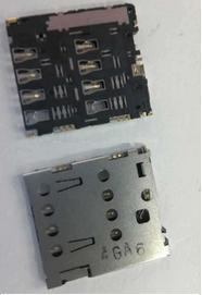 Wholesale-50PCS/lot, original new sim card reader for ASUS ZenFone5 A500CG A501CG A500KL holder connector slot tray module,free ship