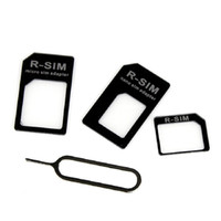 Wholesale iphone 4s sales online – custom HOT Sale Newest Micro Standard Adapter Nano SIM Card to Adaptor Converter Set For iPhone S high quality