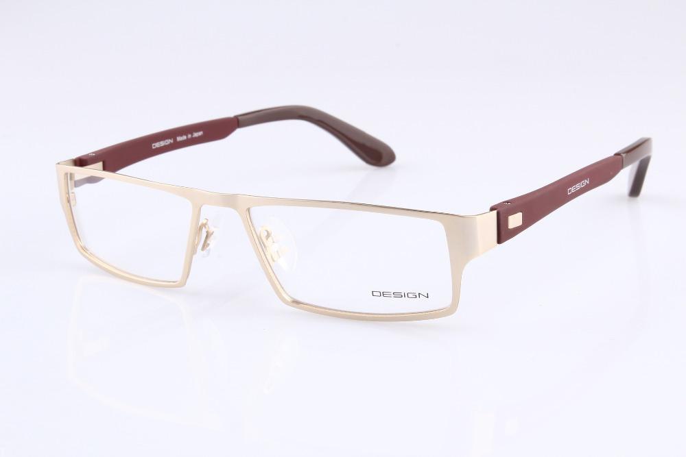 6bda6955d8de 2019 Wholesale 2015 New Prc Men Women Myopia Titanium Eyeglasses Full Frame  Japanese Optical Eye Glasses Eyewear Made In Japan P9015 From Gwyseller