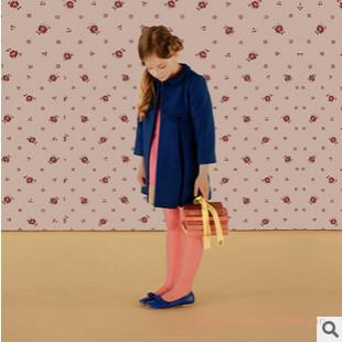 b7c340c0e14b Wholesale Retail Brand High Quality Children Autumn Winter Clothes Navy  Wool Coat All Match Full Length Coat For Kids Girl 2 7 Years Old Child  Winter Coat ...