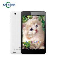 Wholesale Cube 7inch - Wholesale-Original Cube T7 4G Phone Tablet 7Inch Retina Screen 1920x1200 MT8752 Octa Core 64Bit 2GB 16GB Rom Android 4.4 GPS