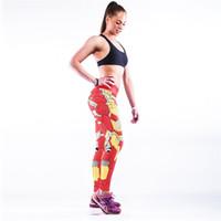 Wholesale Man Fashion Pant Sport - Wholesale-3D printed Iron Man sport pants for women Fashion sexy yoga pants leggings for women slimming pants hot pants