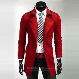 Discount Cheap Male Trench Coats | 2017 Cheap Male Trench Coats on ...