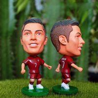"Wholesale Cristiano Ronaldo Figure Toy - Wholesale-Soccer Portugal Cristiano ronaldo 2.5"" Toy Doll Figure 2015-2015 season"