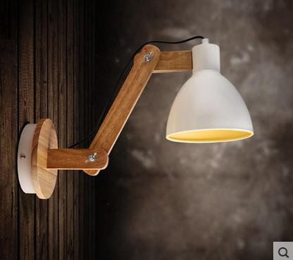 Best Wholesale Wood Modern Led Wall Lamp Light With Arm Beside Lamp ...