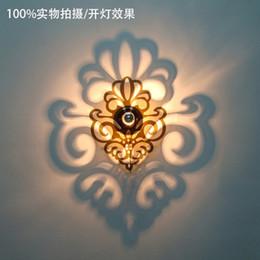 Wholesale Josephine Wall Lamp - Wholesale-Modern Ligne Roset Wall Lamp Josephine 5D Illusiveness Rhombus Wall Lamp Mirror Shadow Light Arandela De Parede Luminaire