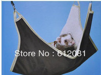 Gros-Free Hammock d'expédition pour hamster Ferret Lapin Rat Parrot Squirrel Hanging 10pcs Bed cage / lot