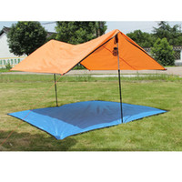diagonal carbon fiber Canada - Wholesale-Outdoor Camping tent 2 person tarp Sun beach tent light waterproof tarp naturehike gazebo party tents camping family camouflage