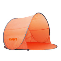 Wholesale Double Layer Tents - Wholesale-New 2015 Camping Tent Single Layer Double Tents Barraca Camping Fishing Beach Tent Camping Equipment Pop Up Tent