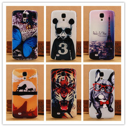 Wholesale Galaxy S4 Panda Case - Wholesale-Fashion Printing Hard Case For Samsung Galaxy S4 i9500 SIV Mobile Phone Cases Back Cover Tiger Lion Dog Butterfly Panda PY
