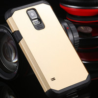 Wholesale Biggest Mobile Phone Wholesalers - Wholesale-Biggest Discount! With Logo Tough Case For Samsung Galaxy S5 SV i9600 Hard Mobile Phone Cover Bags High Quality SGS03860